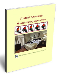 Strategic Spanish for Housekeeping Supervisors book cover